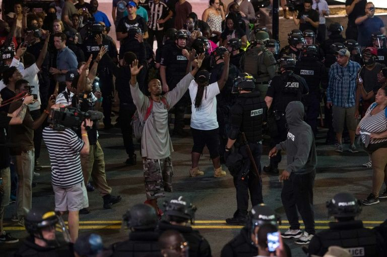 North Carolina Governor Pat McCrory declared a state of emergency after a second night of violence in Charlotte saying national guard would be deployed to help police
