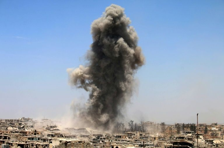 Syrie: un drone attaque les forces de la coalition