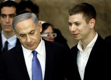 Netanyahu departs for India while son stays in Israel embattled in controversy