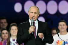 Putin seeks new term as Russia president in March vote