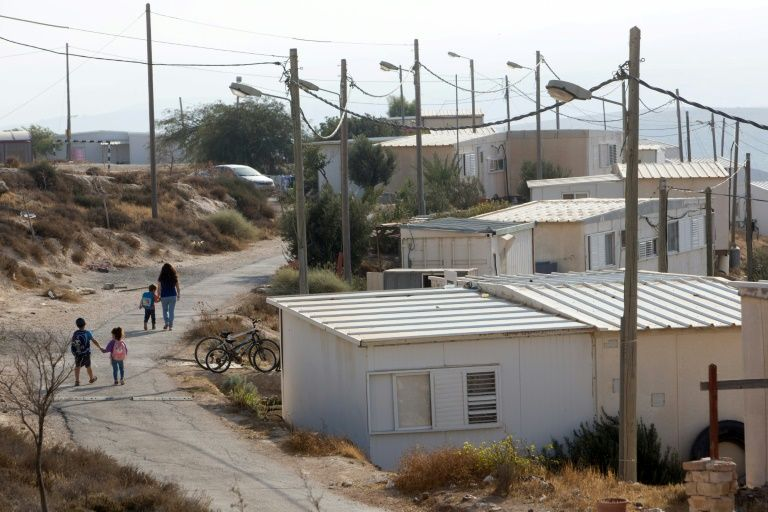 The wildcat Jewish settlement of Mitzpe Dani was built on private Palestinian land in the occupied West Bank