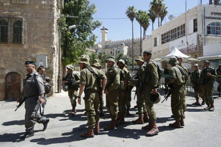 Heurts entre manifestants palestiniens et soldats israéliens à Hébron