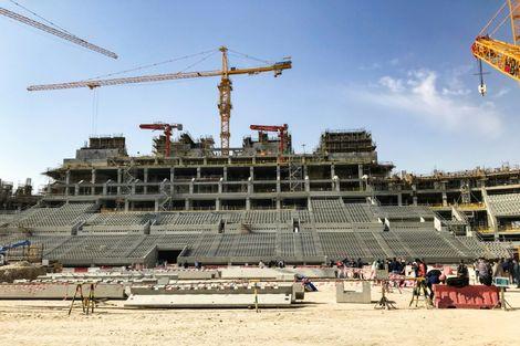 مونديال 2022: قطر تكشف تصميم ملعب لوسيل
