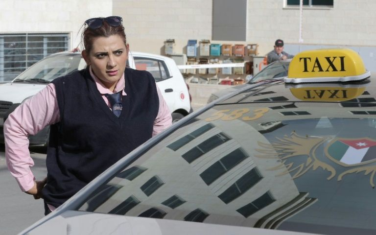 """Jordan is relatively liberal in terms of women's rights compared to other countries in the region, but not everyone is happy with the """"Pink Taxis"""" driven by women"""