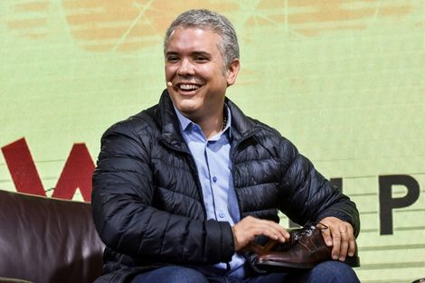 Conservative Colombian presidential candidate Ivan Duque could become the country's youngest ever leader at 41
