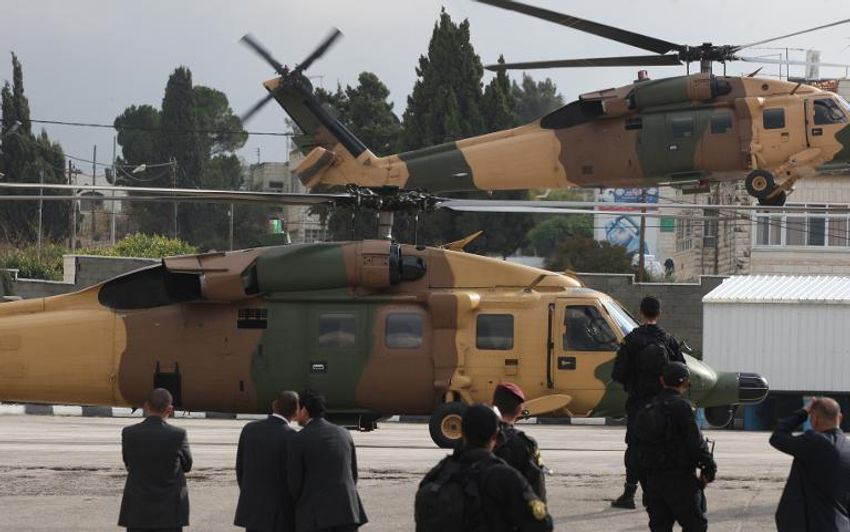 مروحيات للجيش الاردني
