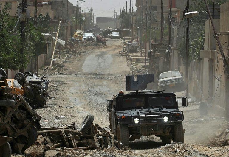 Les forces françaises traqueraient des djihadistes français à Mossoul — Irak