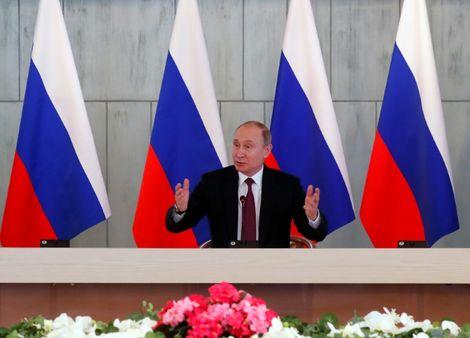 Poutine triomphalement réélu pour un quatrième mandat à la tête de la Russie