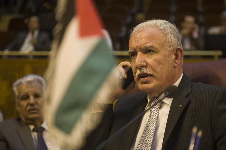 Palestinians 'freeze' communications with USA over PLO office row