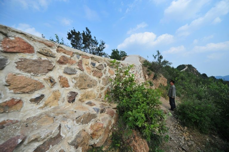 Around 30 percent of China's Ming-era Great Wall has disappeared over time as adverse natural conditions and reckless human activities erode the UNESCO World Heritage site