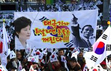 Park's downfall: from student protests to 24-year sentence