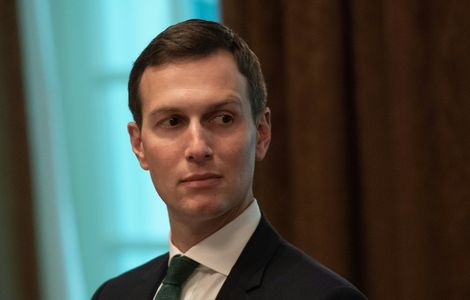 White House senior advisor Jared Kushner -- Donald Trump's son-in-law -- is the point man for the thorny Middle East peace process