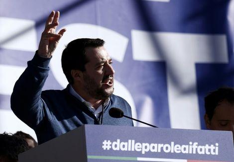 Matteo Salvini, ministre italien de l'Intérieur, en visite officielle en Israël