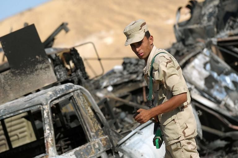 سقوط 30 جنديا مصريا في واقعتين في شمال سيناء   I24News - ما وراء الحدث