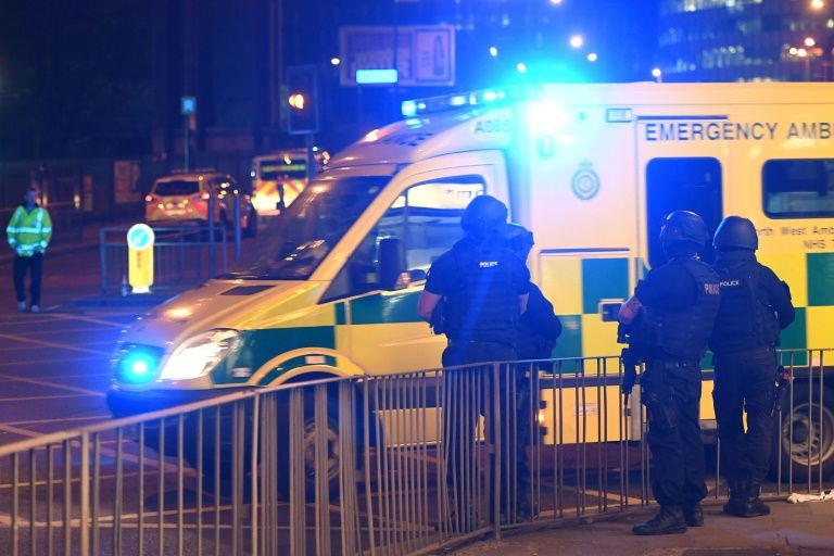 Blood, horror as bomber strikes young crowd in Manchester