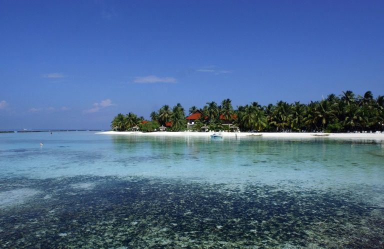 Kurumba island in the Maldives pictured in November 2007
