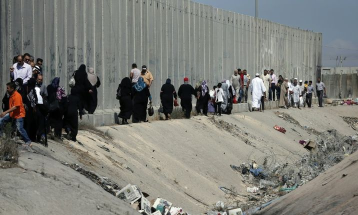 i24NEWS - Israel closes off Palestinian territories for Yom