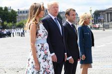الرئيس ترامب في باريس وتوقعات بلقاء عاصف مع الرئيس الفرنسي
