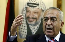 UN Secretary-General Antonio Guterres informed the Security Council in a letter that he intends to appoint former Palestinian prime minister Salam Fayyad, seen in 2008, to replace Martin Kobler of Germany, who has been Libya envoy since November 2015