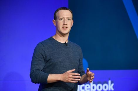 Reports said the departure of the Instagram founders came amid growing tensions with Facebook CEO Mark Zuckerberg, pictured here