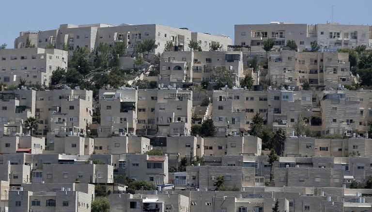Buildings in Ramat Shlomo, a Jewish settlement in the mainly Palestinian eastern sector of Jerusalem, where Israel has approved construction of 900 settler homes