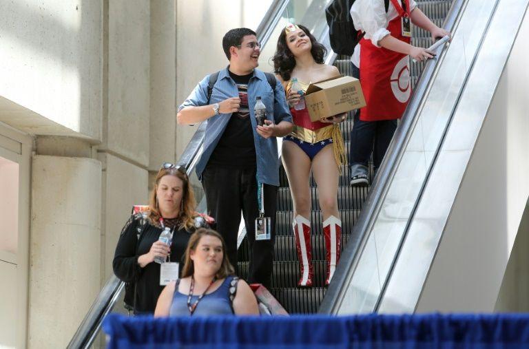 Pour tous les fans, le Comic-Con est l'occasion d'entrer dans la peau de leur personnage favori