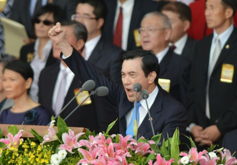 taiwan president meet china wife