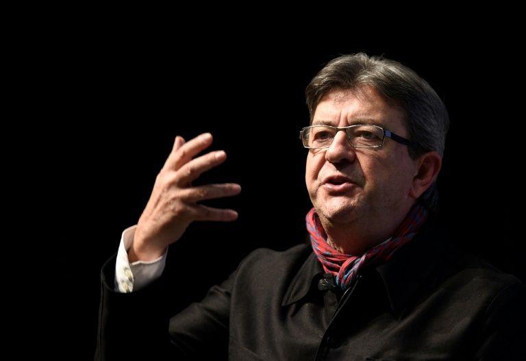 Le candidat à la présidentielle 2017 Jean-Luc Mélenchon à Florange, le 19 janvier 2017