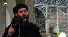 IS leader Abu Bakr al-Baghdadi, seen in 2014, broke a nearly year-long silence to call for attacks against Turkey and, if confirmed, IS' claim for the attack in Diyarbakir would be its first in the country