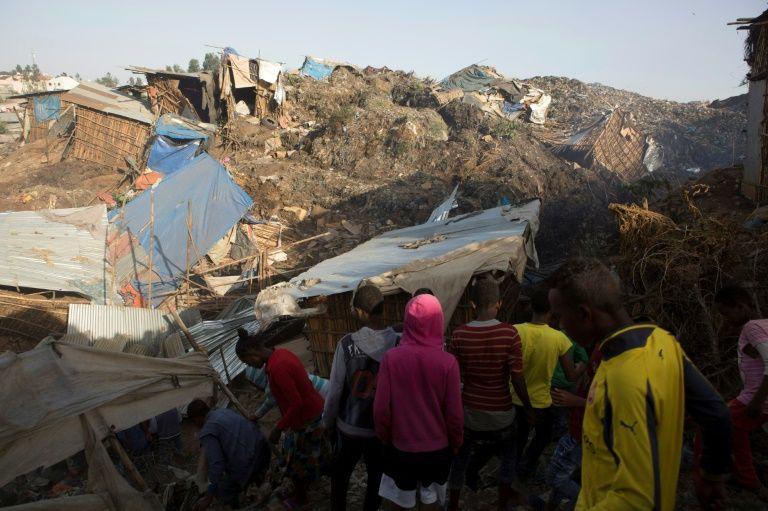 Éboulement dans une décharge en Ethiopie: au moins 65 morts (nouveau bilan)