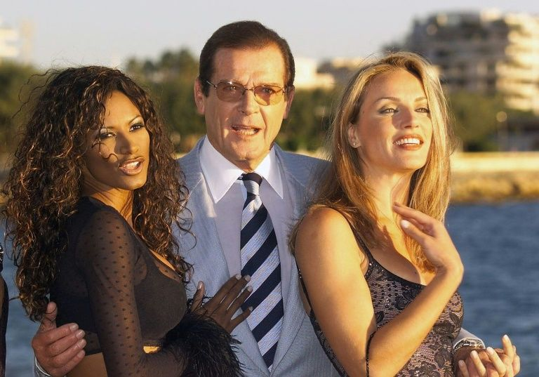 Roger Moore was known for his cheeky quips