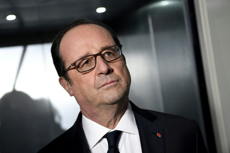 President Francois Hollande is visiting Iraq to meet French forces helping in the fight against the Islamic State group