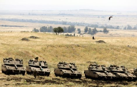 Israël: l'armée développe un nouveau modèle de chars