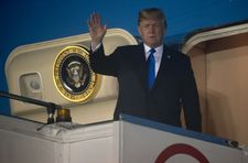 Donald Trump est arrivé à Singapour pour son sommet avec Kim Jong Un