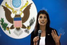 US ambassador Nikki Haley is expected to press President Joseph Kabila to agree a timetable for elections to choose his successor in the Democratic Republic of Congo