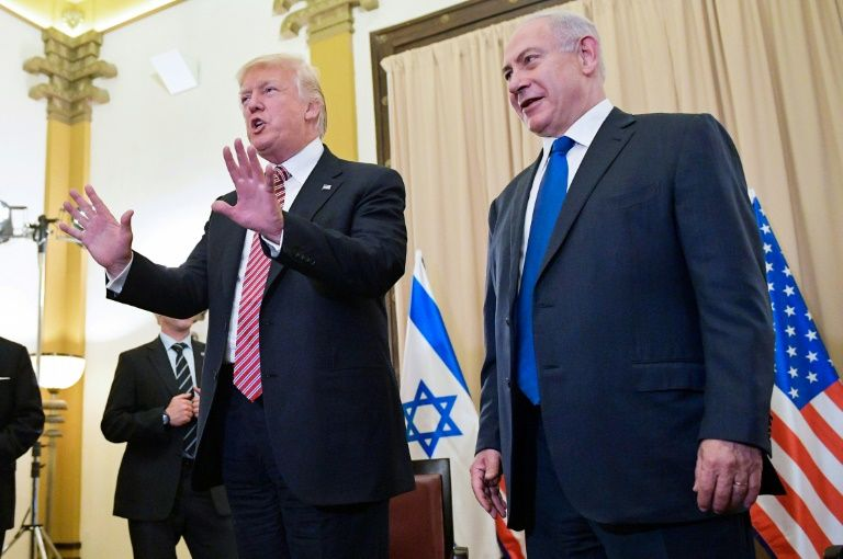 Netanyahu says no 'diplomatic blank check' from US on Palestinian conflict