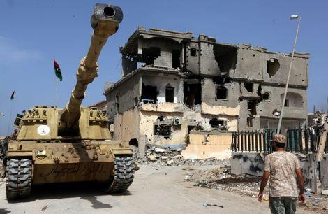 45 militiamen sentenced to death in Libya for 2011 protest killings