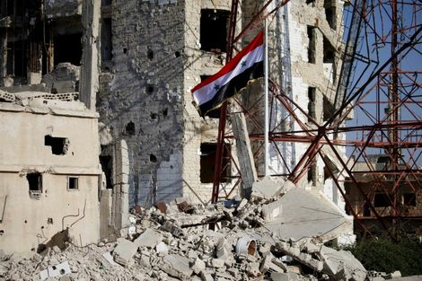 Air raids on last IS pocket in south Syria kill 26 civilians, monitor says
