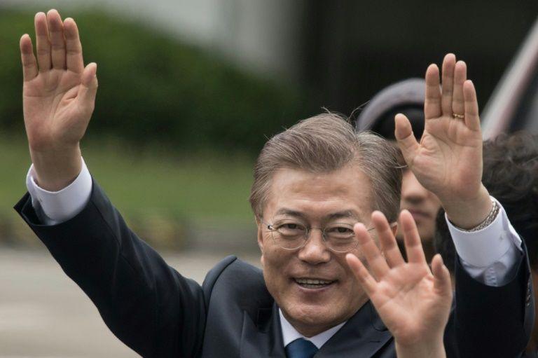 Moon et Trump veulent coopérer étroitement sur la Corée du Nord