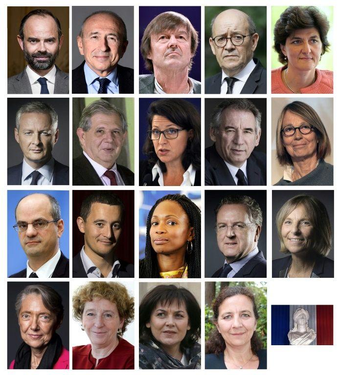 Gouvernement d'ouverture pour débuter l'ère Macron — France