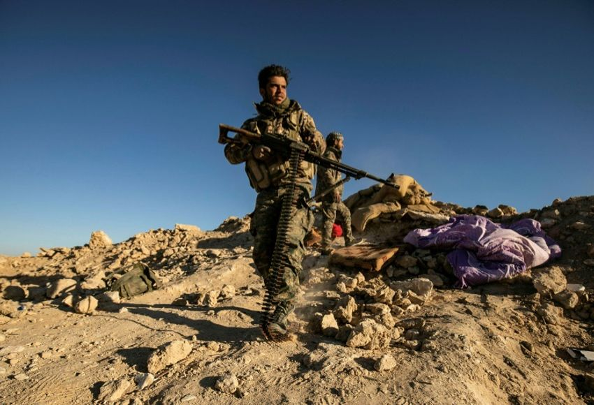 The Kurdish-led Syrian Democratic Forces are battling the Islamic State group with backing from a US-led coalition