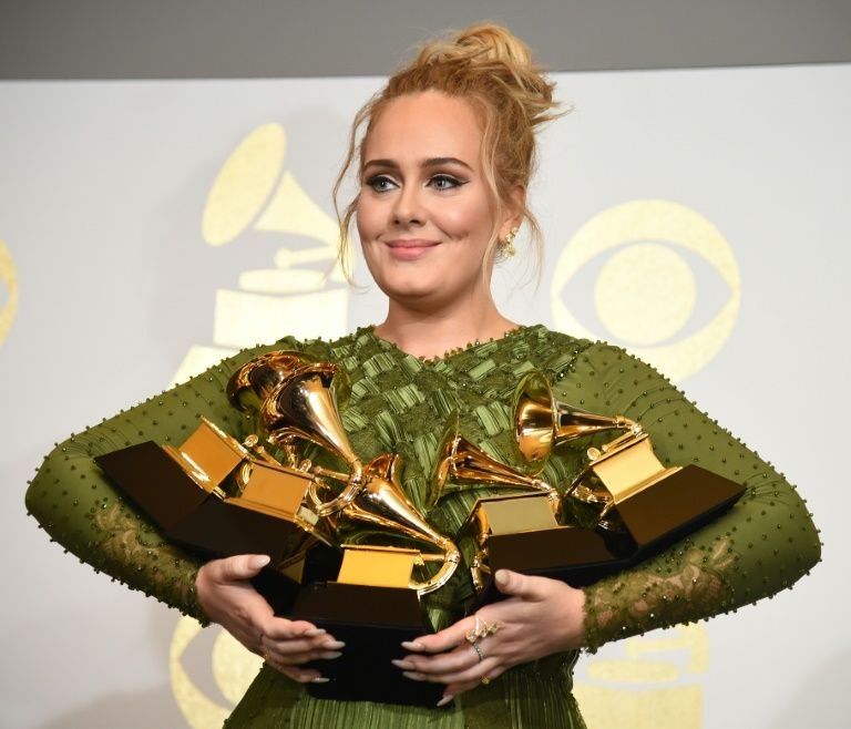 Adele sweeps Grammys with Album and Record of the Year