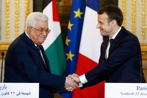 Mahmoud Abbas reçu vendredi par Emmanuel Macron à Paris