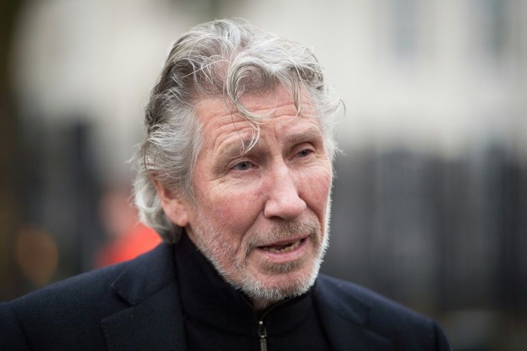 Roger Waters releases song citing Palestinian poet in embassy move protest