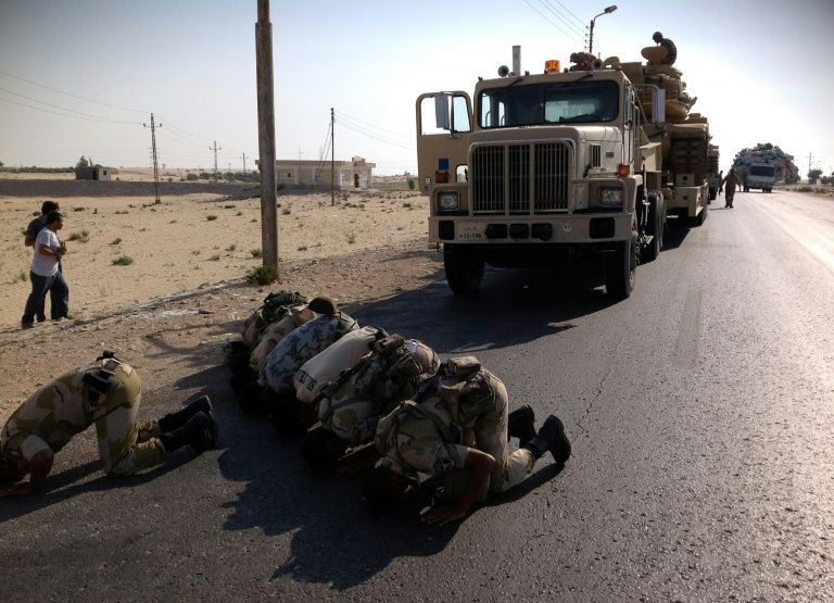 Egyptian soldiers killed or wounded in Sinai attacks