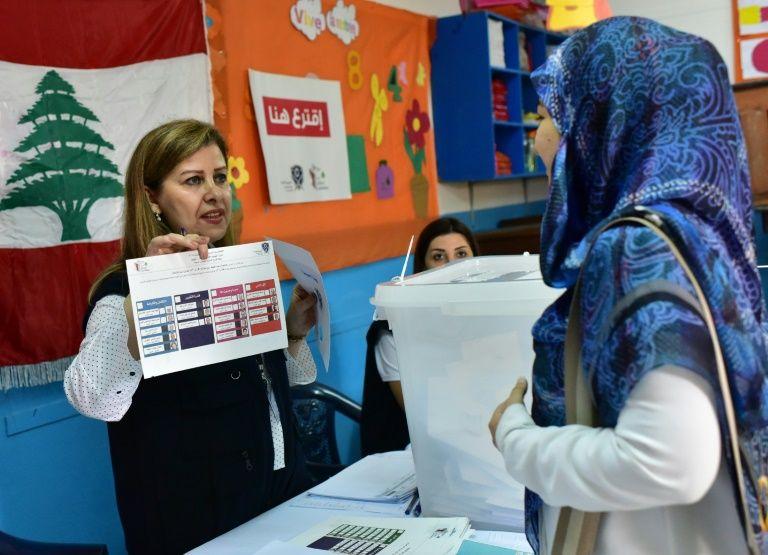 I24news ouverture des bureaux de vote au liban pour les législatives