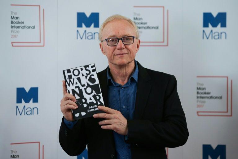L'Israélien David Grossman lauréat du prestigieux Man Booker International Prize