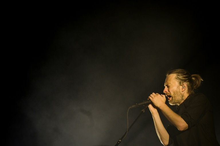 Radiohead frontman Thom Yorke, pictured performing in Lisbon on July 15, 2012, is well-known for his activism on climate change