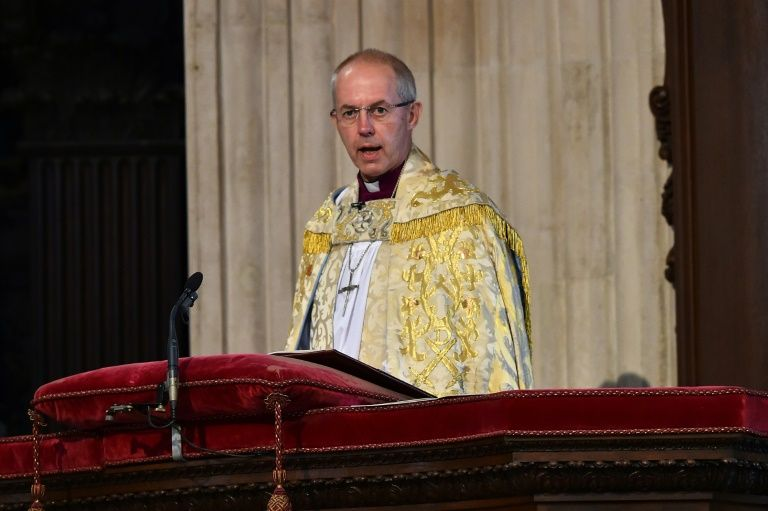 "In his Christmas Day sermon Archbishop of Canterbury Justin Welby was to say world values were ""in the wrong place"" with people trusting in ""in the wrong things"""