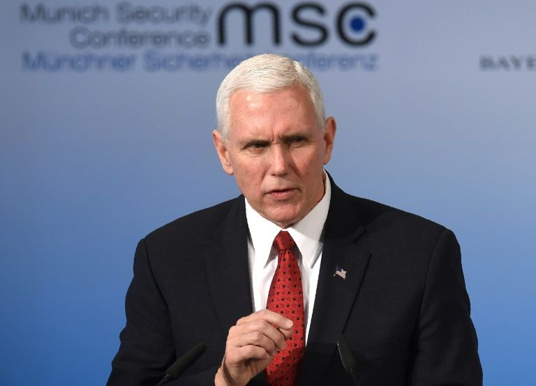 Pence tells worried Europe: 'US will always be your greatest ally'